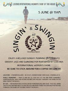 Singin' and swingin' @De Staat