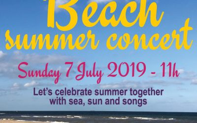 Free Annual summer concert at the beach on July 7th!